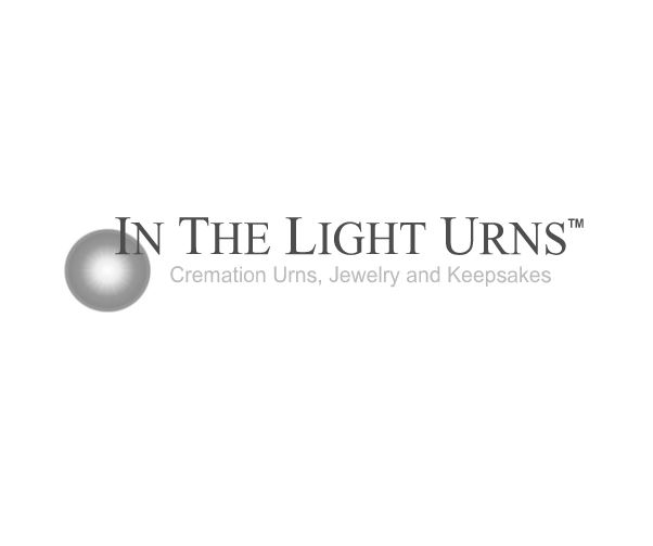 Iris Porcelain Infant Urn
