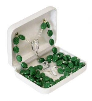 Green Shamrock Keepsake Urn