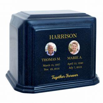 Monarch Companion Granite ~ For Two Cremation Urn