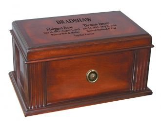 Woodbridge Double Quality Chest Urn© Series