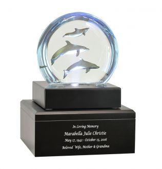 Aquatic Ballet Dolphin Cremation Urn