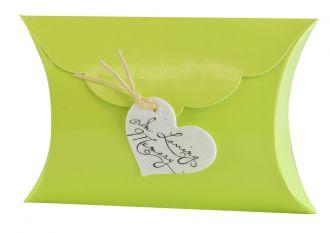 Spring Green Little Peace PIllow Bio Urn