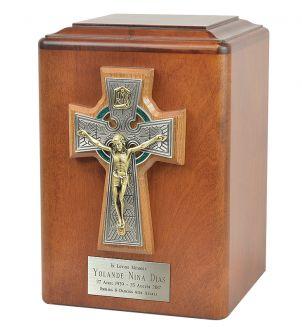 INRI Catholic Cross Cremation Urn
