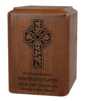 Irish Cross Urn