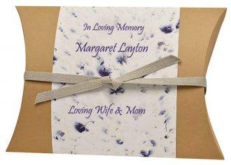 Peaceful Pillow® Lilac Water Burial Urns