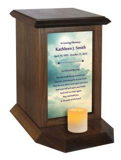 Irish Blessing Poem Urn