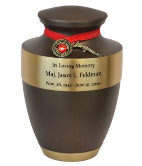 Marine Corps Master Brass Urn