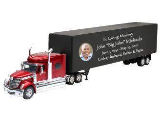 International LoneStar Truck Cremation Urn