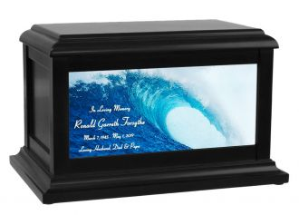 Surfers Rip Curl Cremation Urn