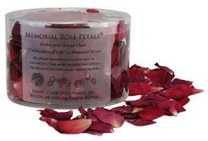 Eco Friendly Memorial Rose Petals© Love Red