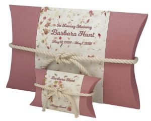 Pink Petals Peaceful Pillow® Water Urn