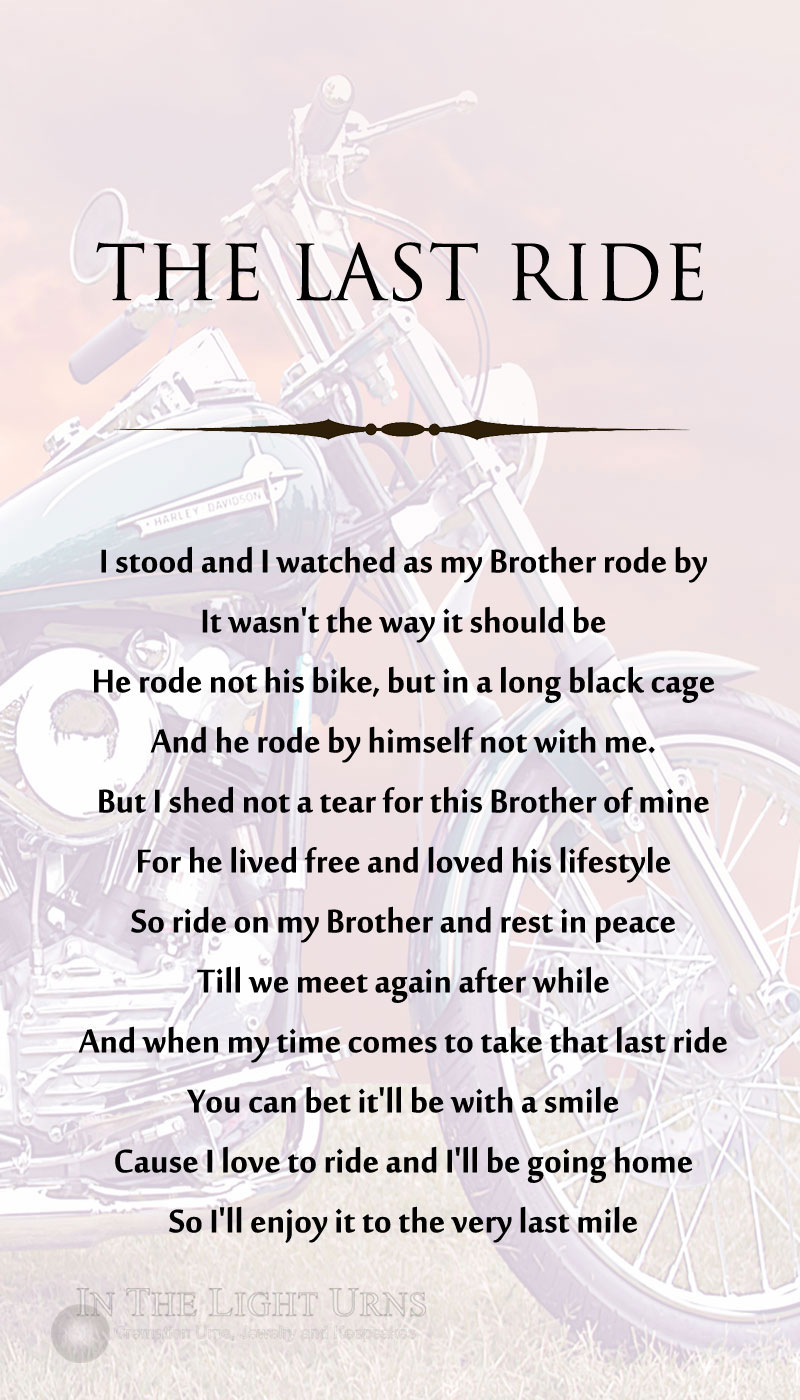 Motorcycle The Last Ride