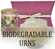 Biodegradable Urns for ashes