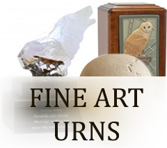 Art Urns for ashes