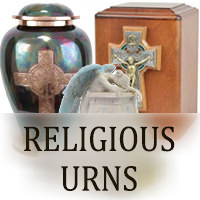 Religious Urns for ashes