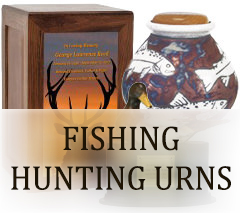 Fishing & Hunting Urns for ashes