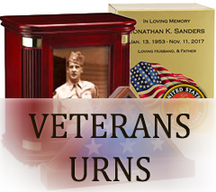 Military & Service Urns for ashes