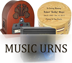 Music Urns for ashes
