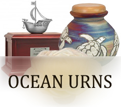 Ocean & Nautical Urns for ashes