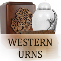 South Western Urns for ashes