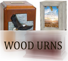 Wood Urns for ashes