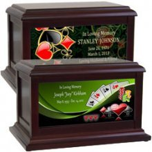 Gambling | Games of Chance | Cards | Pool Table Urns