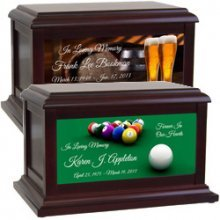 Sports | Music | Leisure | Life Style | Beer & Wine Urns