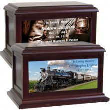 Train | Old West | Country | Cowboy Urns