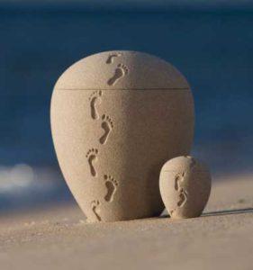 sand urn